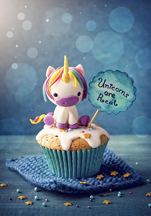 Unicorn cupcake tutorial - Adorable baby unicorn