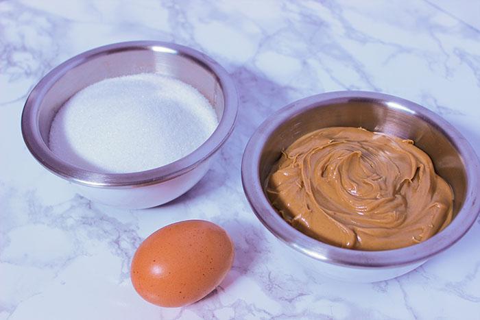3 Ingredient Peanut Butter Cookies Ingredients