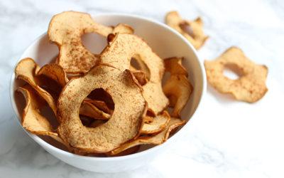 Irresistible Baked Cinnamon Apple Crisps