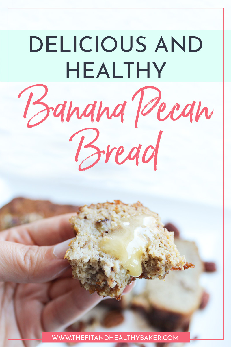 Delicious and Healthy Pecan Banana Bread