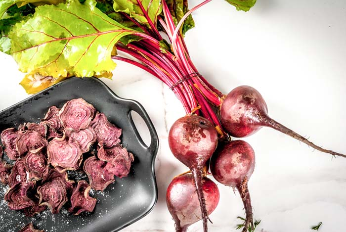 Healthy Chip Recipes-beet chips