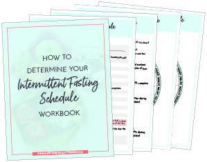 Intermittent Fasting Schedule Workbook