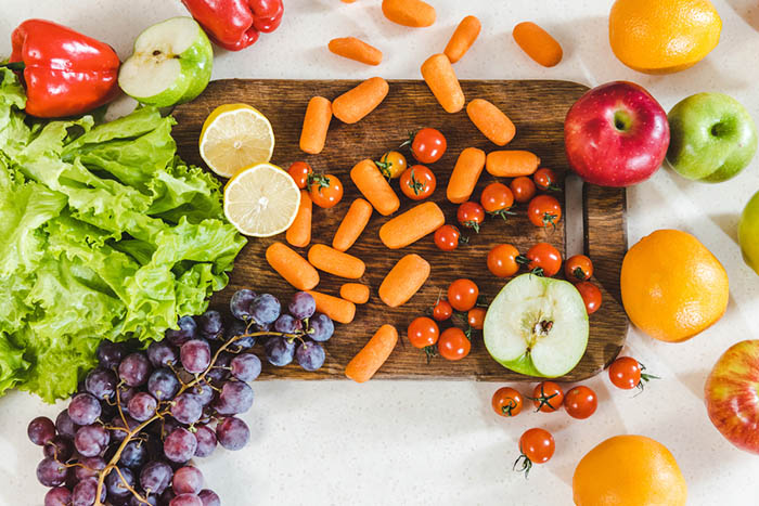 What to eat during intermittent fasting - fruits and veggies