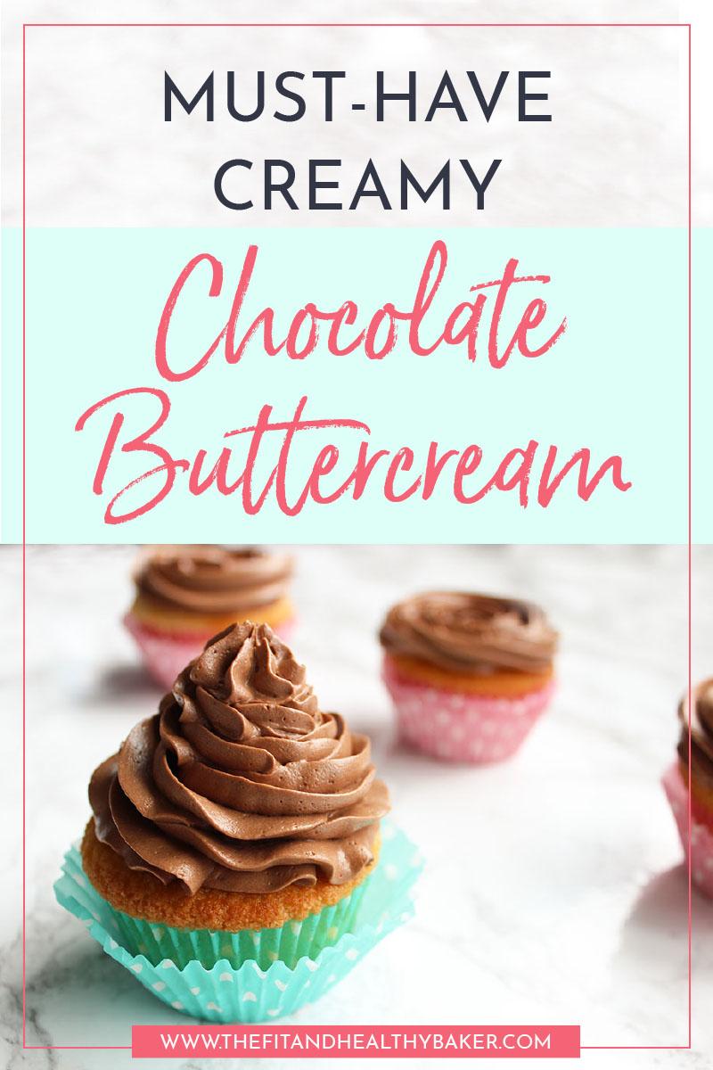 Creamy Chocolate Buttercream Pin