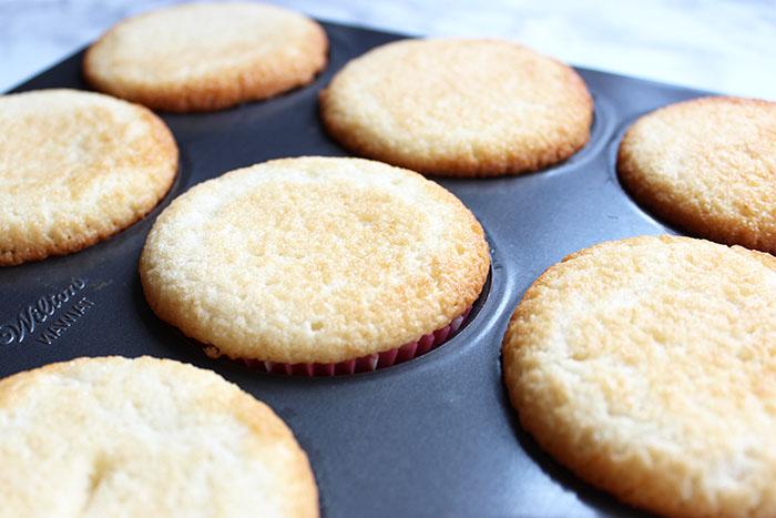 Delectable Vanilla Cake - baked vanilla cupcakes