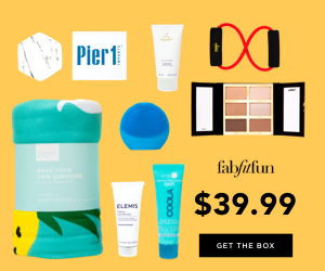 FabFitFun 2018 Summer Editors Box - Get $10 OFF