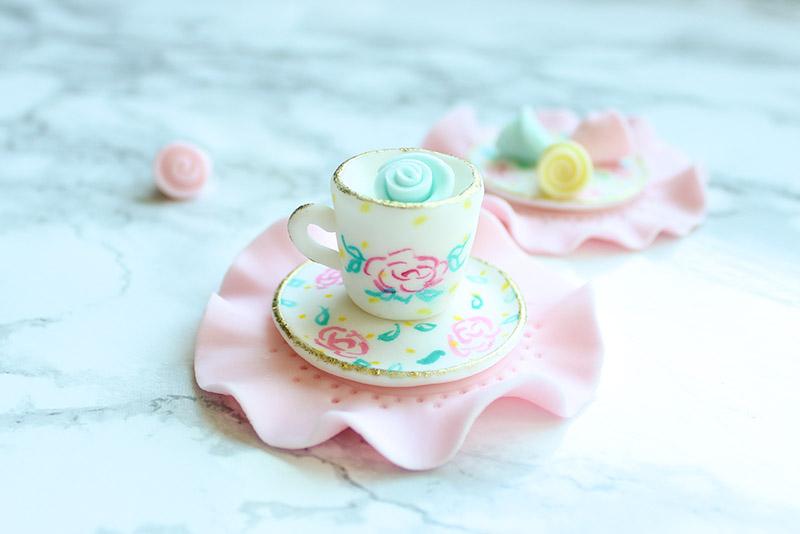 Teacup Cupcake Topper