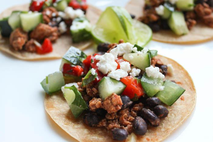 Sun Basket Meals - turkey tacos