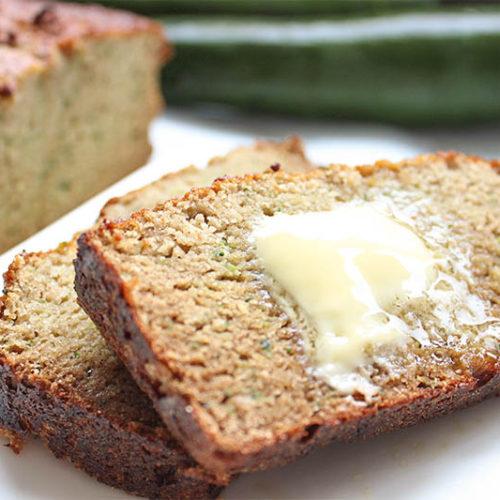 zucchini bread with coconut flour