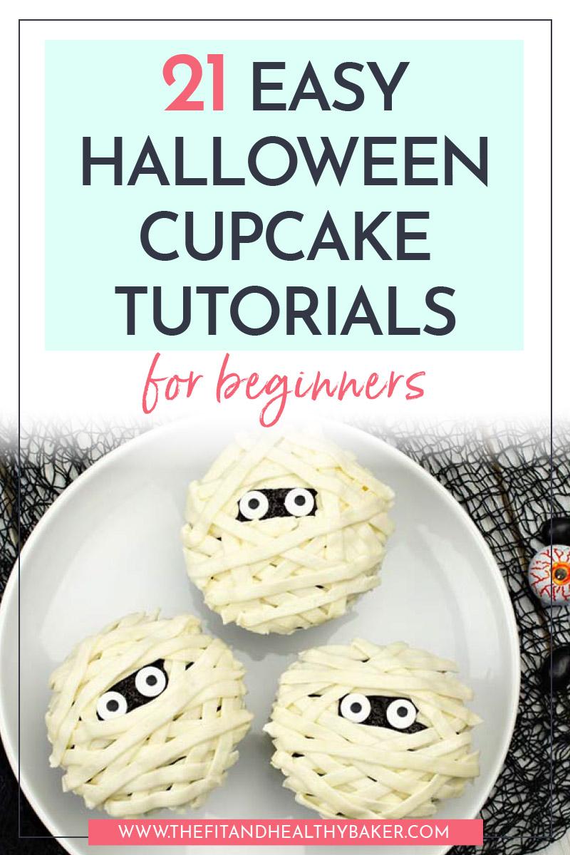 21 Easy Halloween Cupcake Tutorials for Beginners