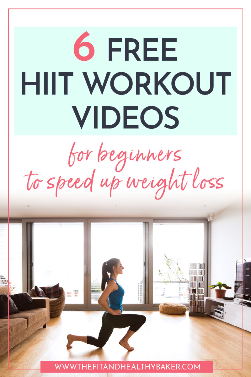 6 Free HIIT Workout Videos for beginners to speed up weight loss