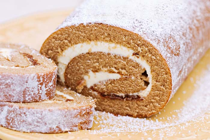 Low Carb Fall Cake Recipes - Pumpkin Roll