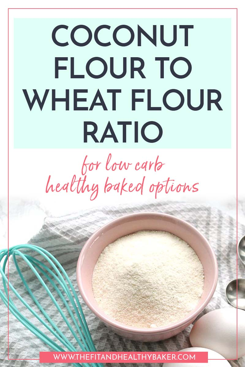 Coconut Flour to Regular Flour Ratio for Healthy Baked Goods