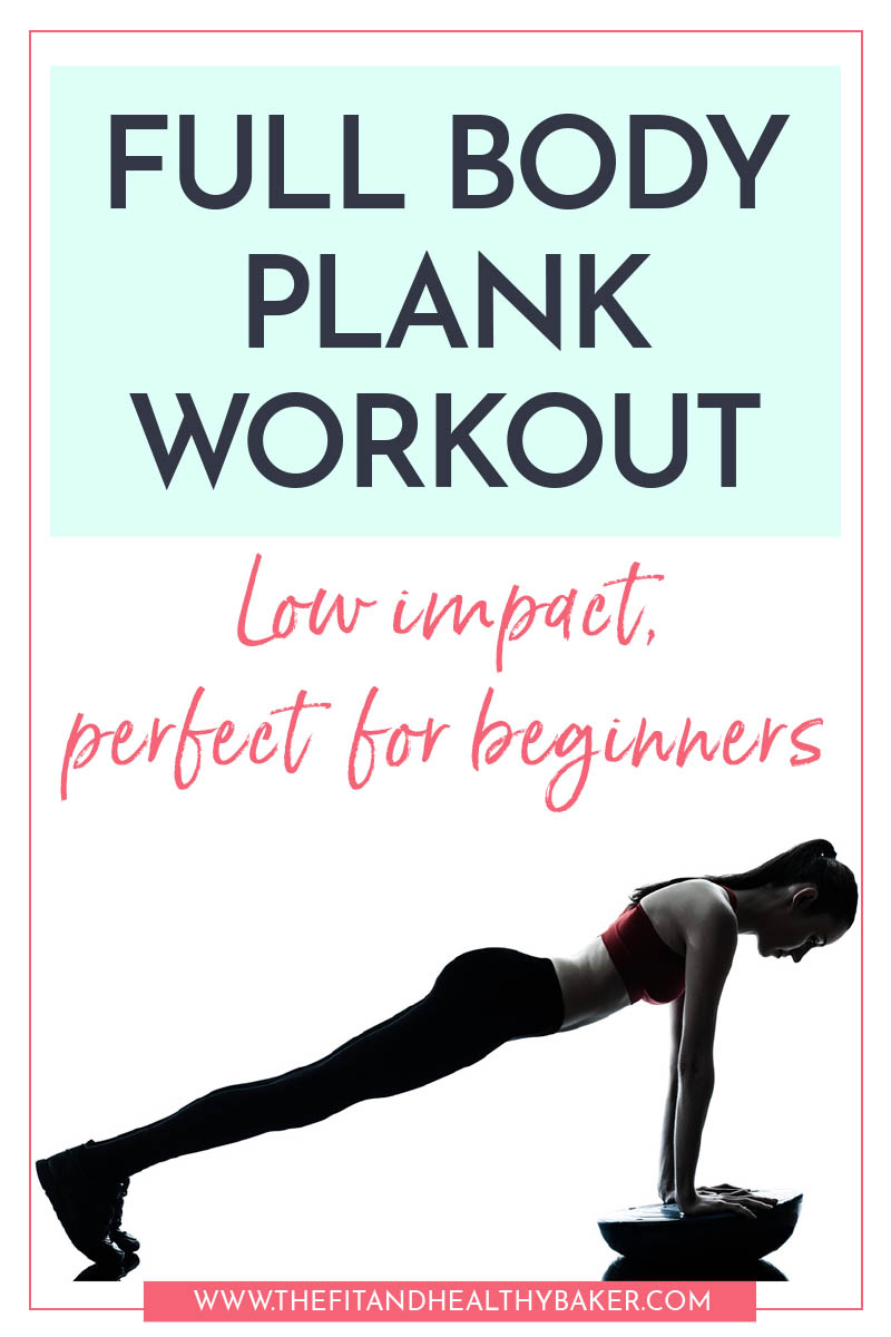 Full Body Plank Workout for Beginners