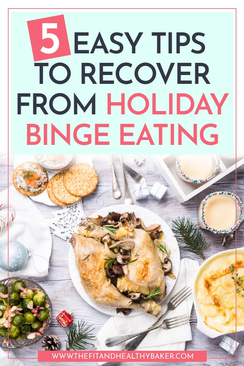 5 Easy Tips to Recover From Holiday Binge Eating - turkey