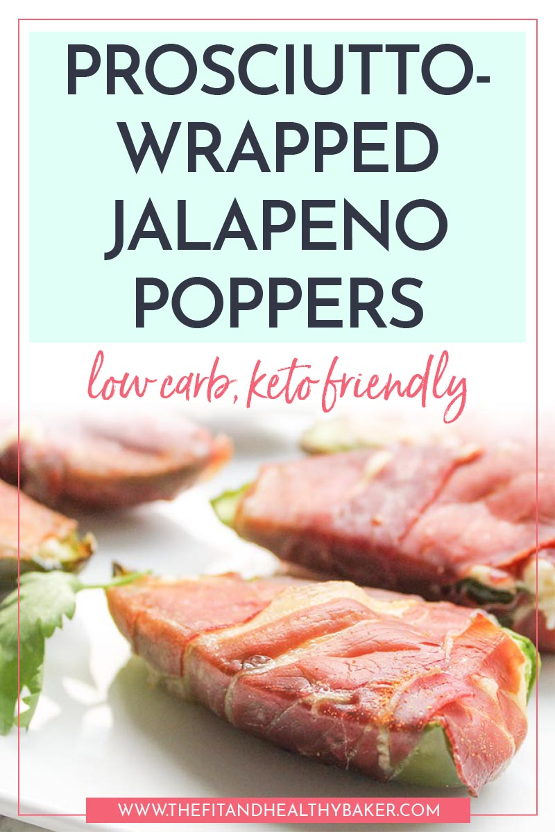 Prosciutto-Wrapped Jalapeno Poppers