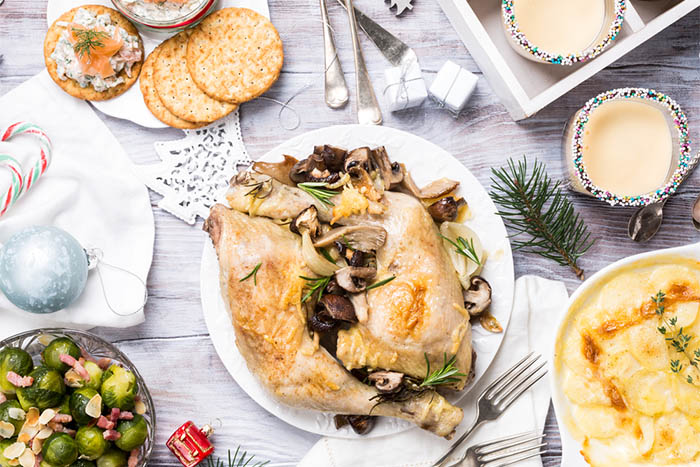 Tips to Recover from the Holiday Binge - holiday feast