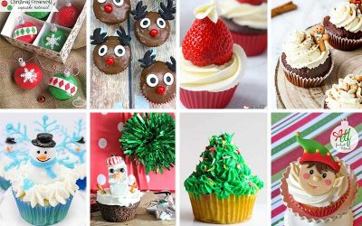 11 Awesome and Easy Cupcake Tutorials for Your Christmas Celebration
