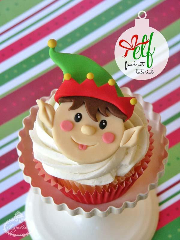 11 Christmas Cupcake Tutorials for Your Christmas Day Celebrations - elf-tutorial