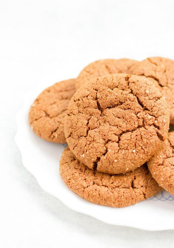 Healthy Holiday Baked Goods - Grain-Free-Ginger-Molasses-Cookies-Recipes-to-Nourish-1