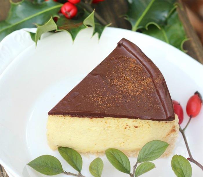 Healthy Holiday Baked Goods - eggnog-cheesecake-gluten-free-primal-no-bake-2-758x659