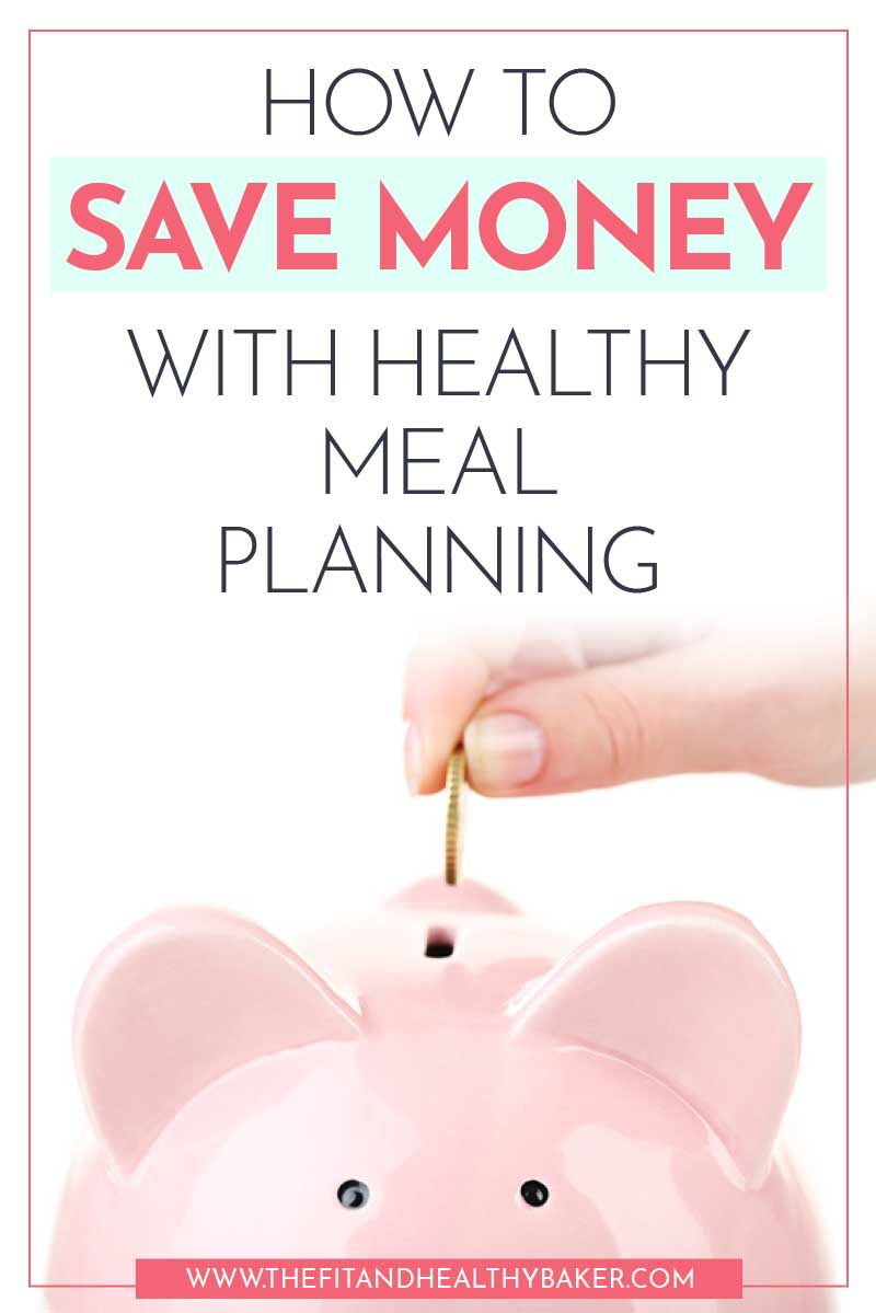How to Save Money with Healthy Meal Planning - piggy bank