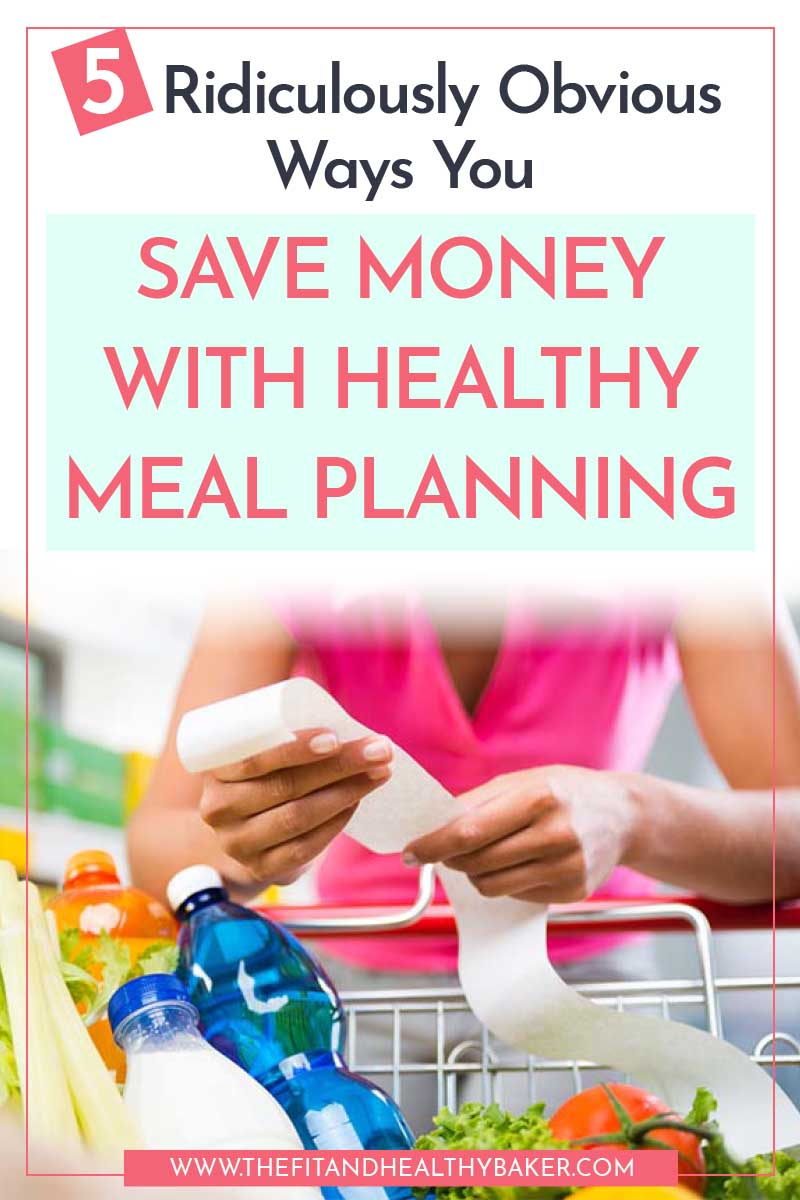 5 Ridiculously Obvious Ways You Save Money with Healthy Meal Planning - receipt