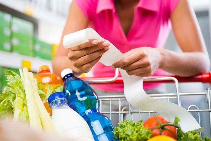 Save Money with Healthy Meal Planning - supermarket reciept